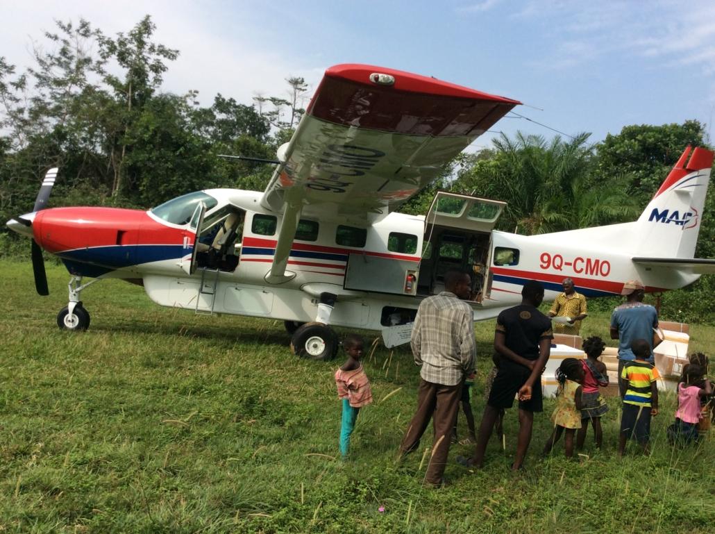 Vaccination flygplan