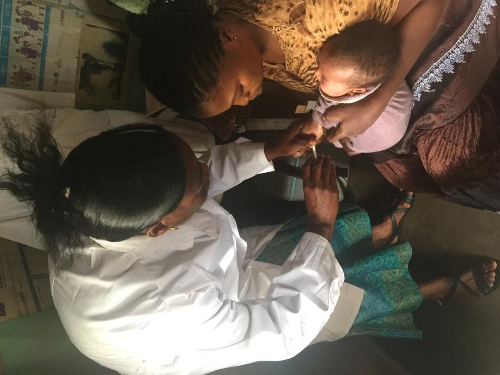 Vaccination spruta